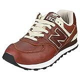 New Balance 574v2 Zapatillas Hombre, Rojo (Deep Mahogany/Munsell White...