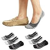 Ueither Calcetines Invisibles Cortos pare Hombres/Mujeres Respirable y...