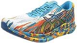 Asics Gel-Noosa Tri 13, Road Running Shoe Hombre, Digital Aqua/Marigold...