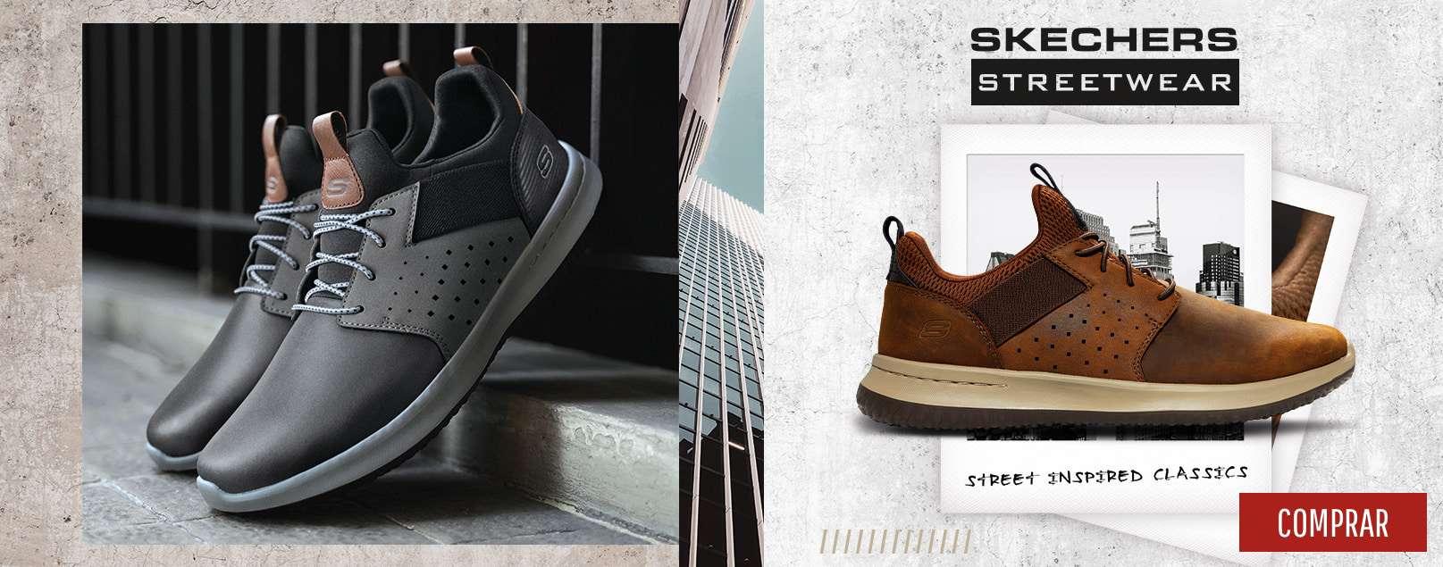 ▷  Mejores Zapatos Skechers para Hombre 52c728974f36
