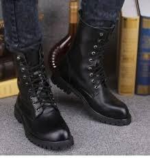 botas militares hombre